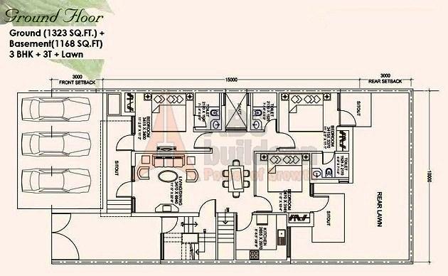 Ansal Mulberry Homes Floor Plan Floorplan In