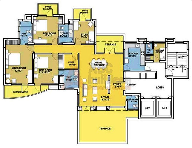 Bestech Park View City 2 Floor Plan