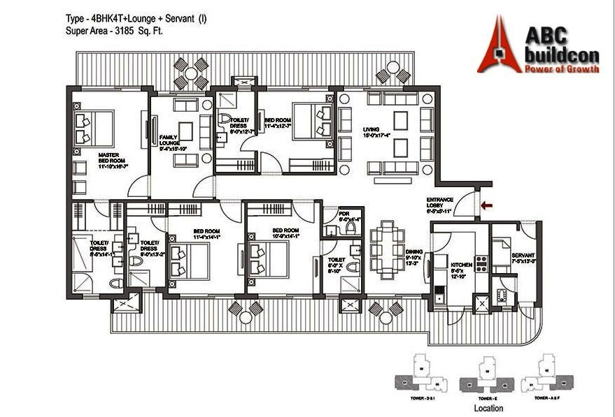 Bestech Park View Grand Spa Floor Plan Floorplan In