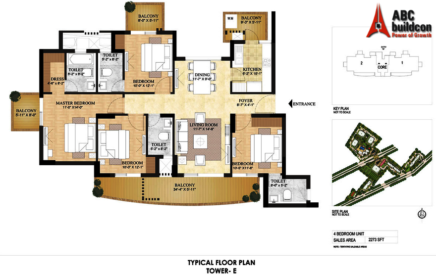 Dlf Primus Floor Plan Floorplan In