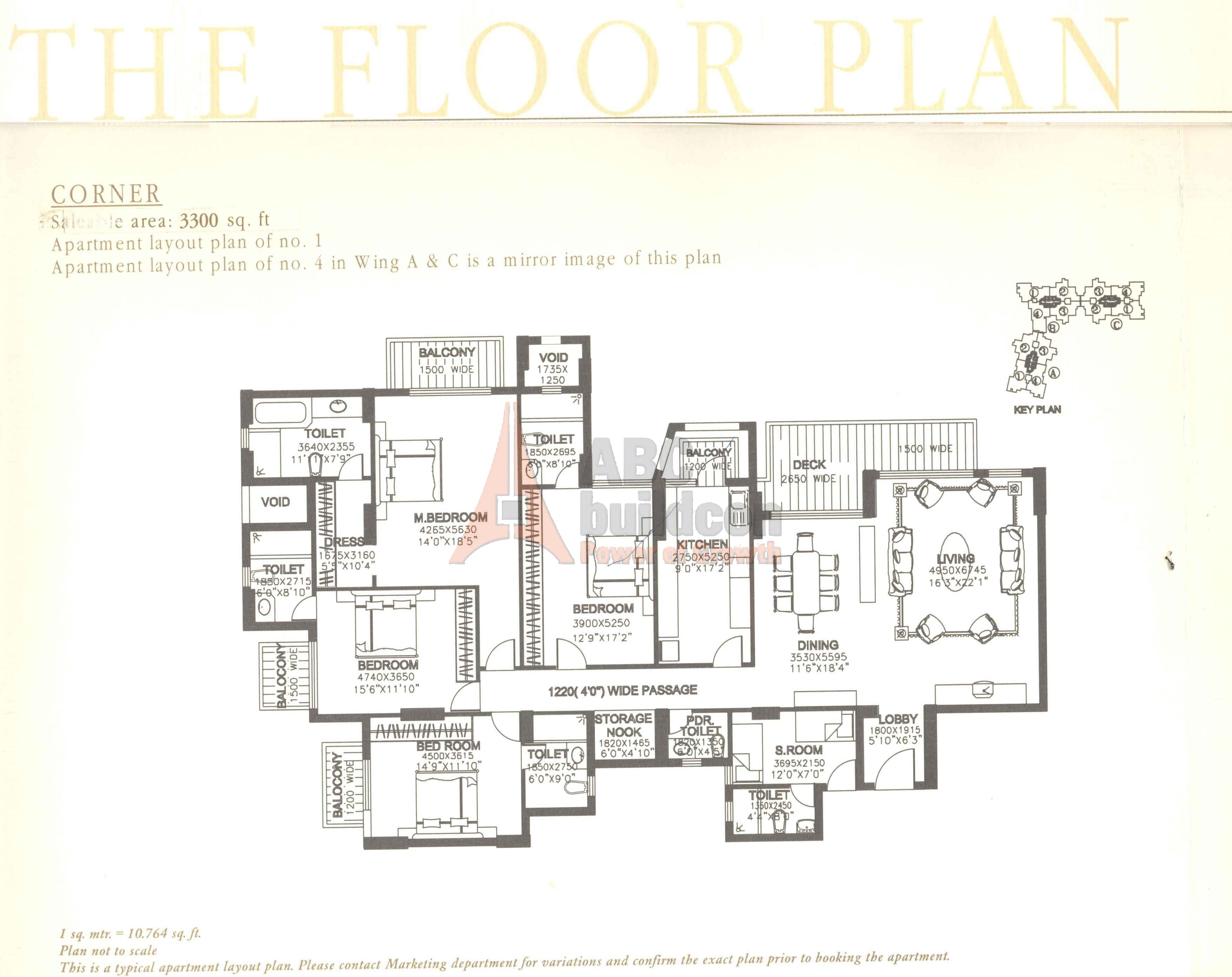 dlf summit floor plan floorplan in