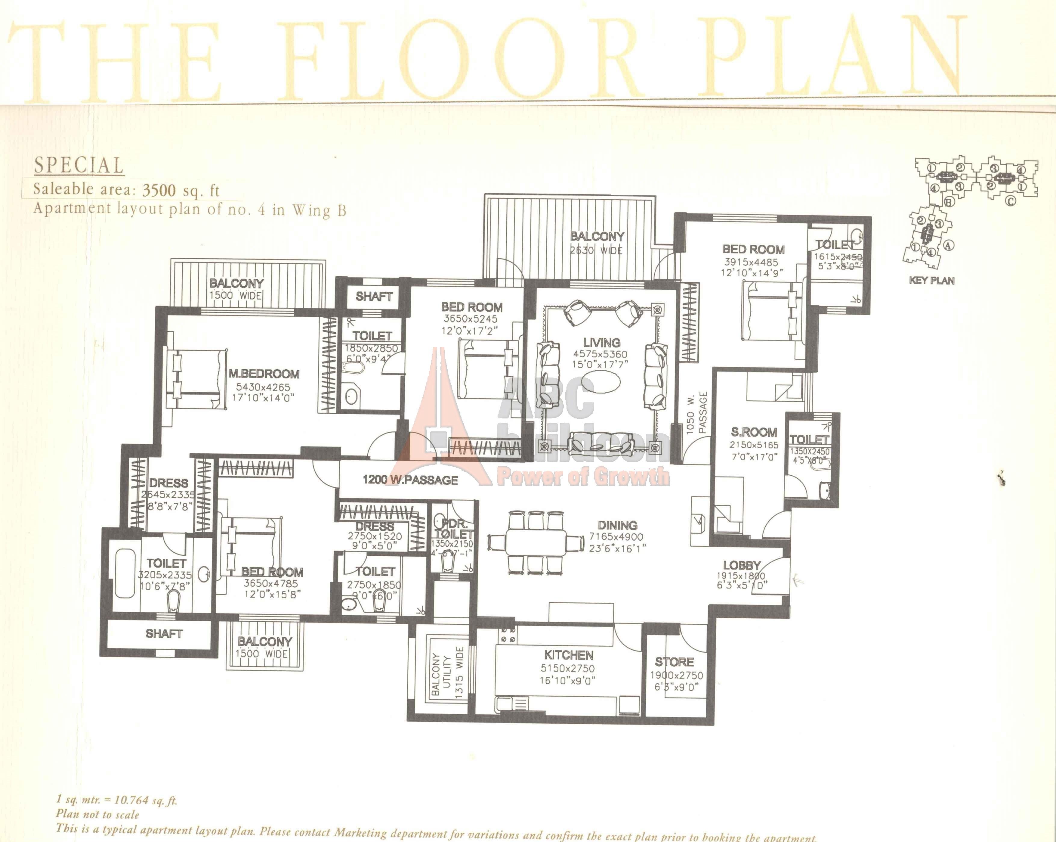 Dlf Summit Floor Plan Floorplan In