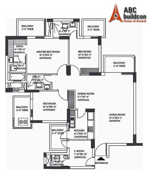 Dlf Ultima Floor Plan Floorplan In
