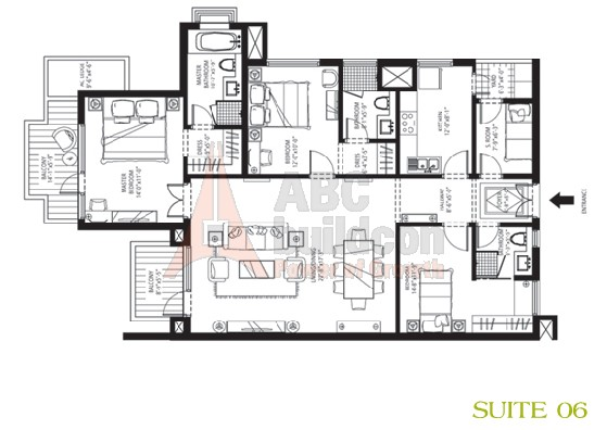 Emaar Mgf Palm Drive Floor Plan Floorplan In