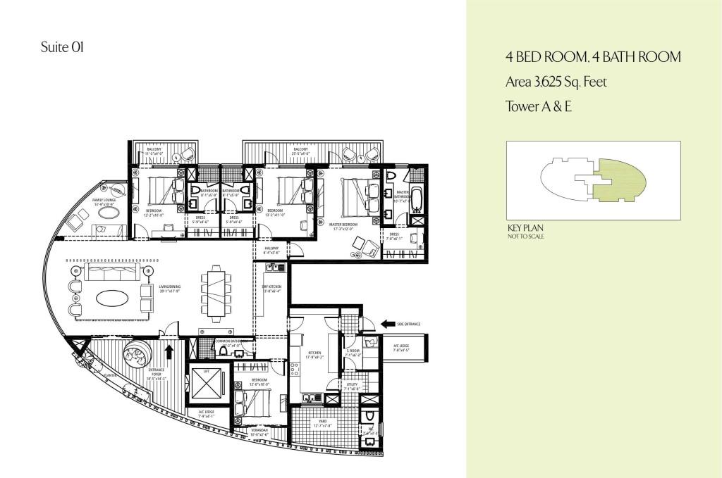 Emaar Mgf Palm Drive Floor Plan Floorplan In