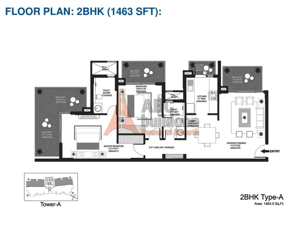 Dlf New Town Heights Floor Plan Godrej Oasis Floor Plan Floorplan In