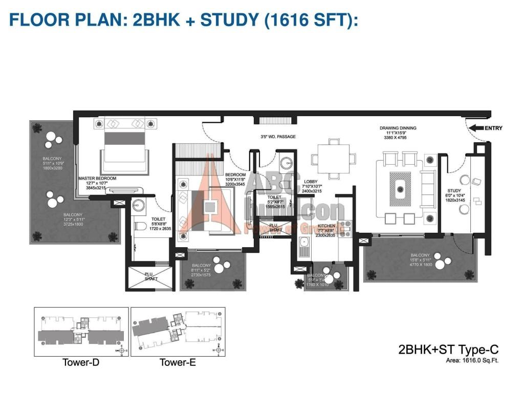 Godrej Oasis Floor Plan Floorplan In