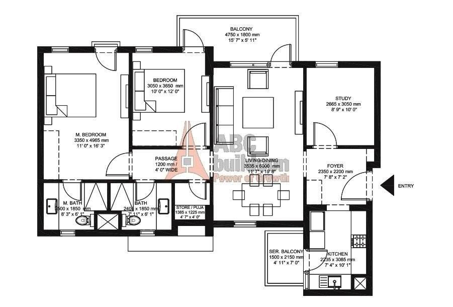 Ireo Corridors Floor Plan Floorplan In