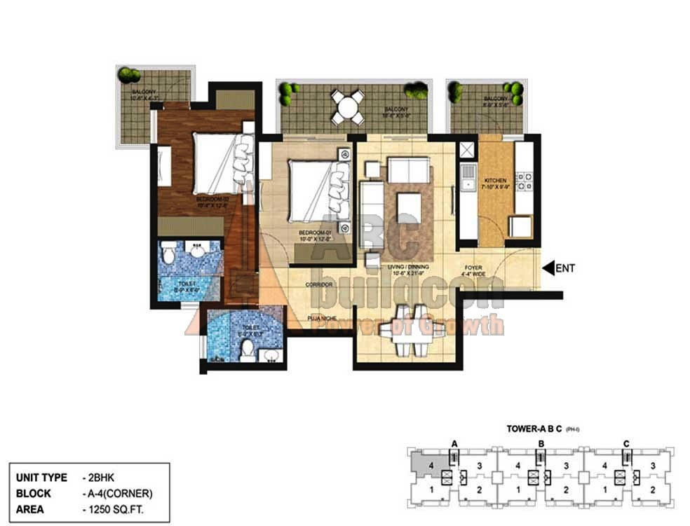 Indiabulls Centrum Park Floor Plan Floorplan In