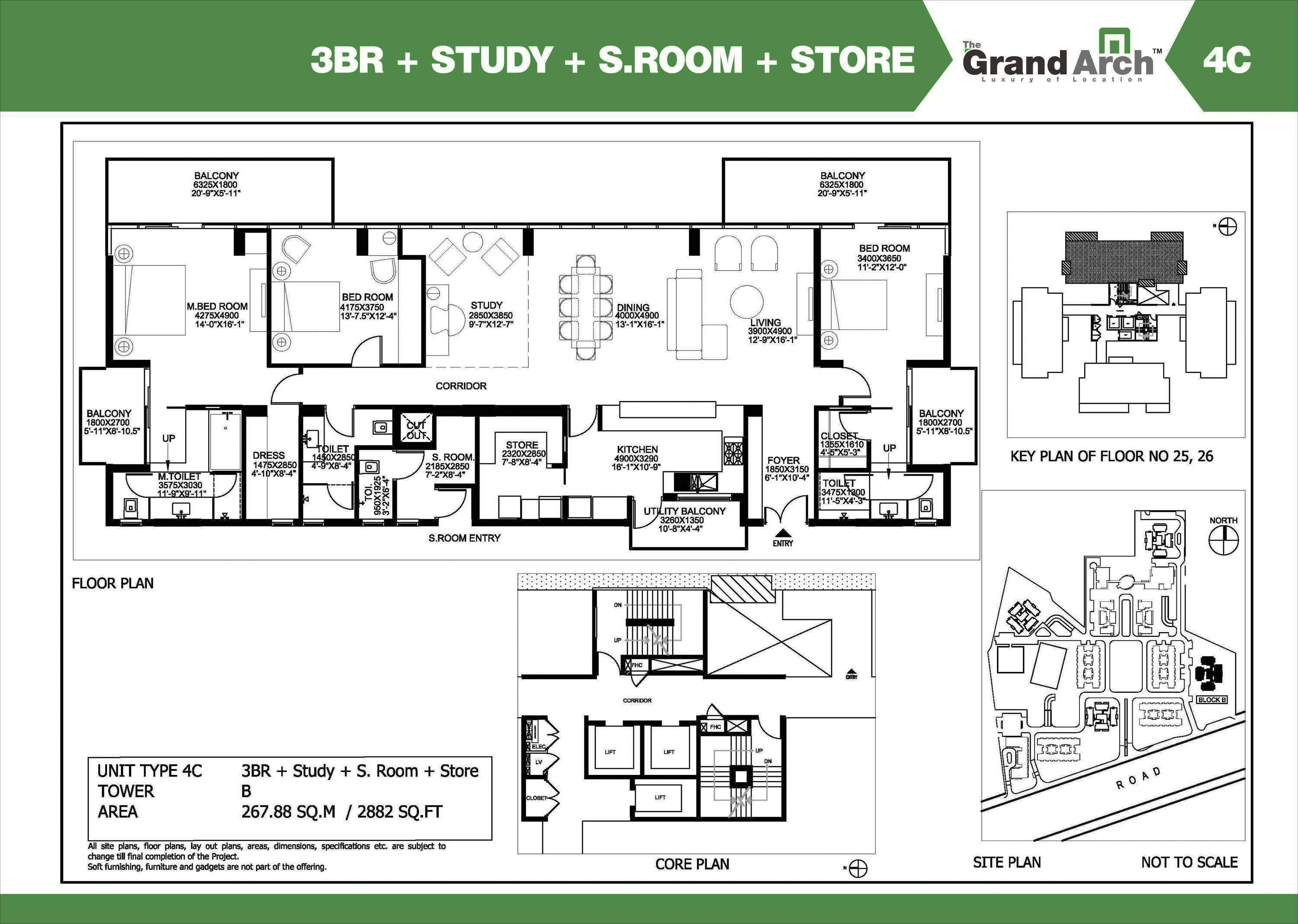 Ireo Grand Arch Floor Plan Floorplan In