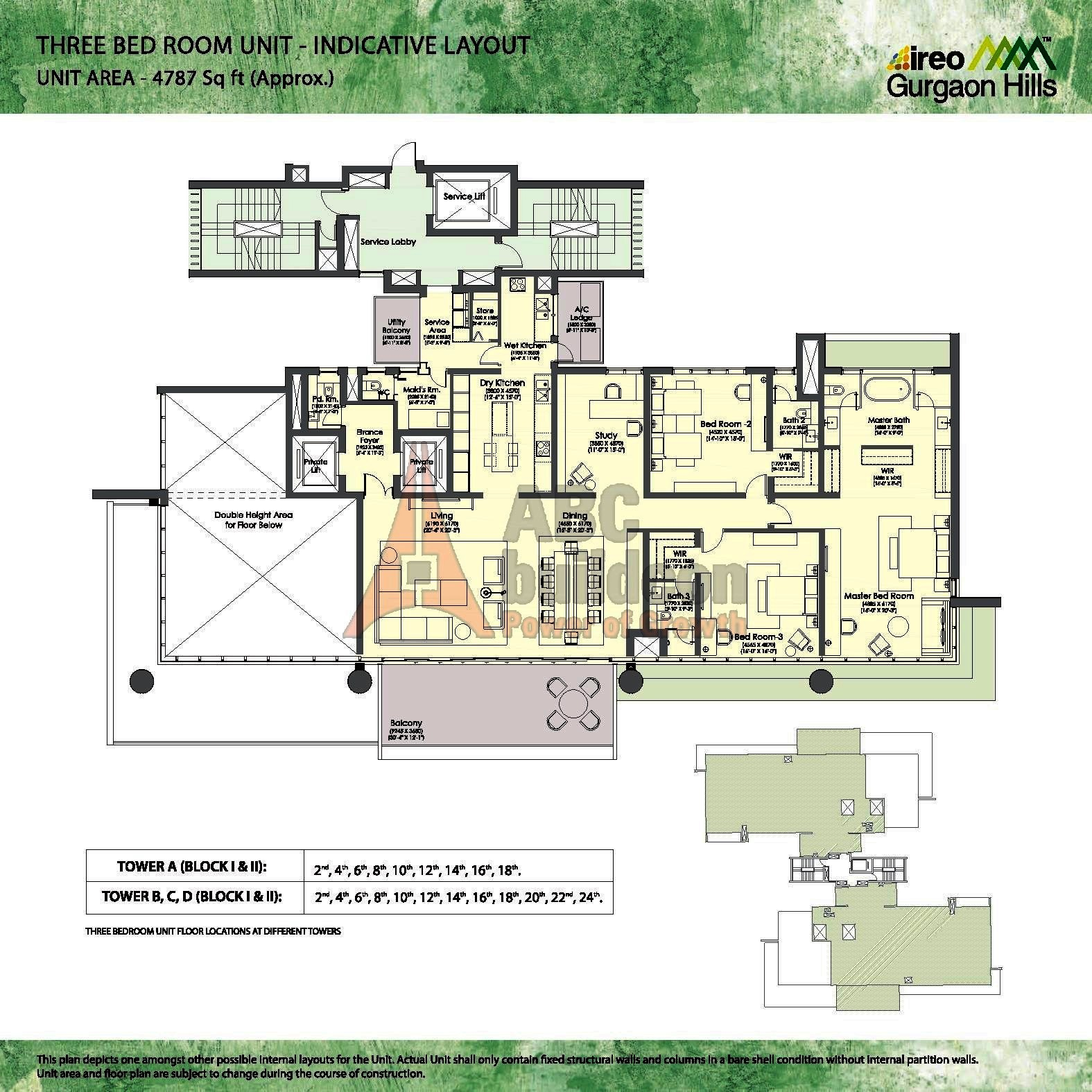Ireo Gurgaon Hills Floor Plan Floorplan In