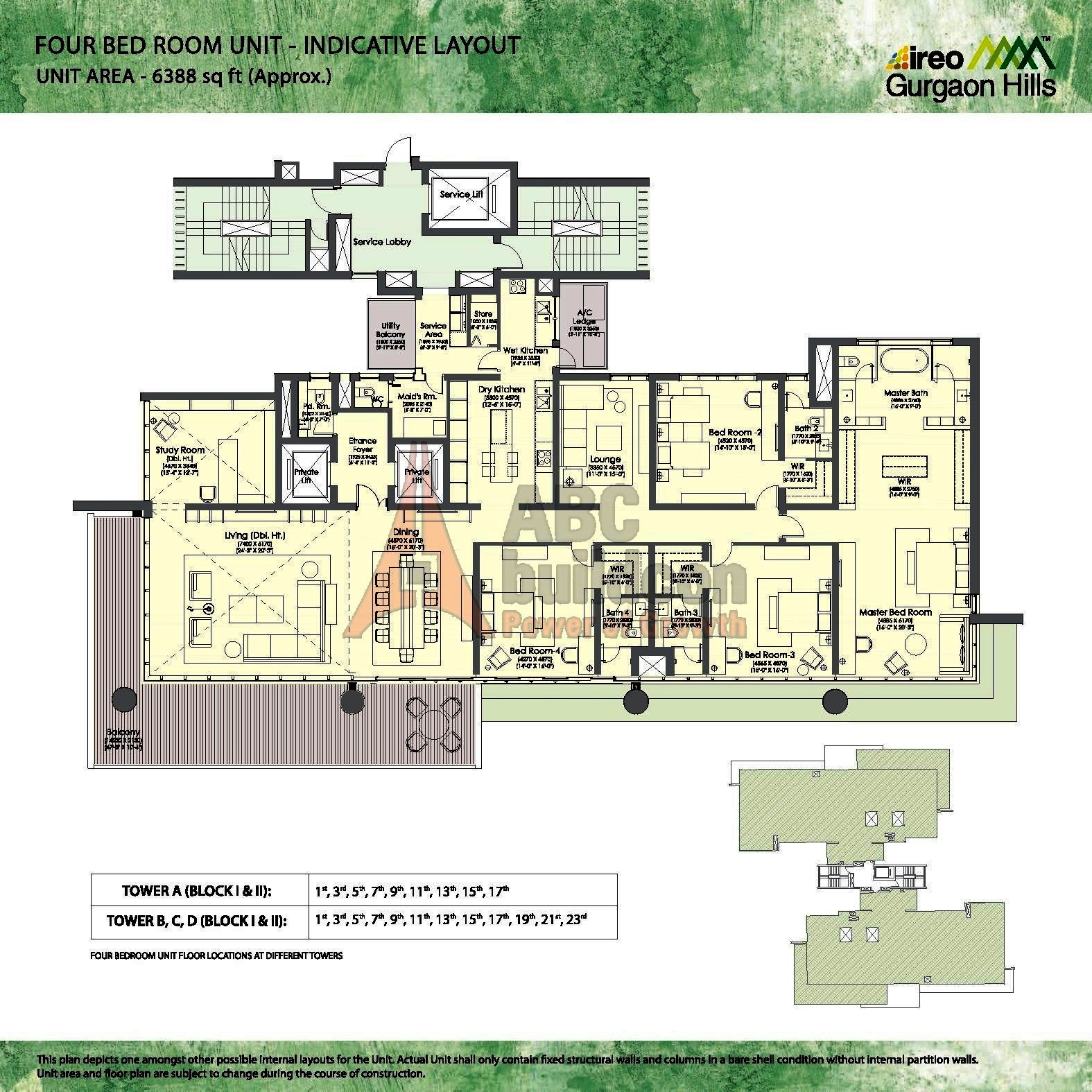 Dlf New Town Heights Floor Plan Ireo Gurgaon Hills Floor Plan Floorplan In
