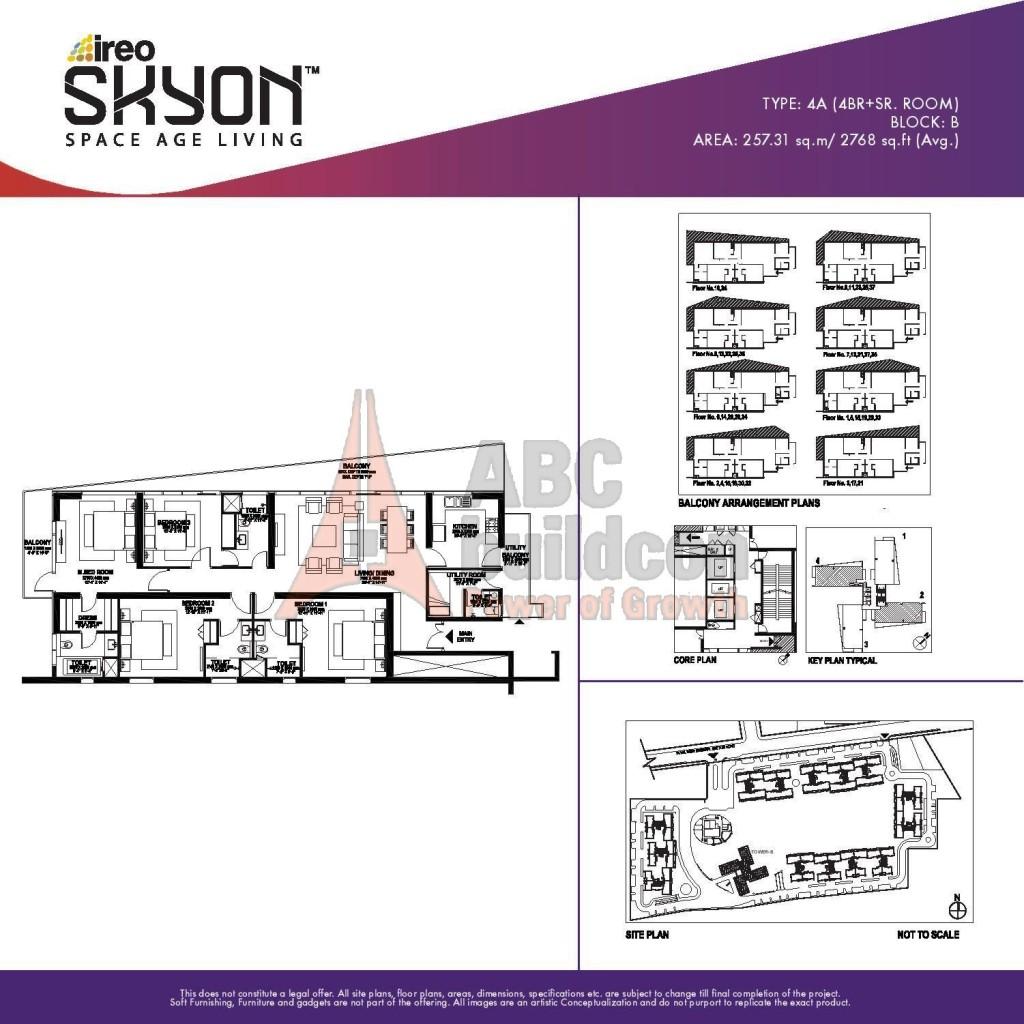 Ireo Skyon Floor Plan FloorPlanin