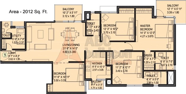 Ireo Uptown Floor Plan Floorplan In
