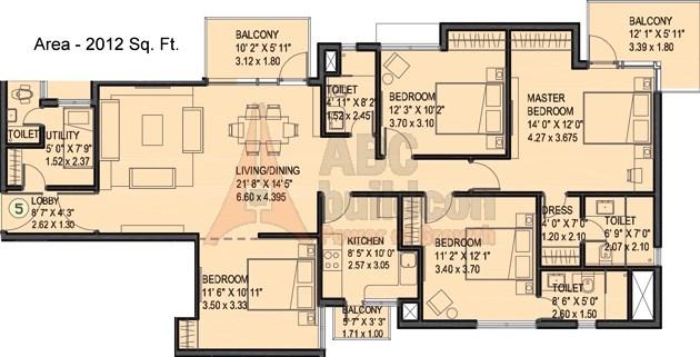 Ireo Uptown Floor Plan Floorplan In