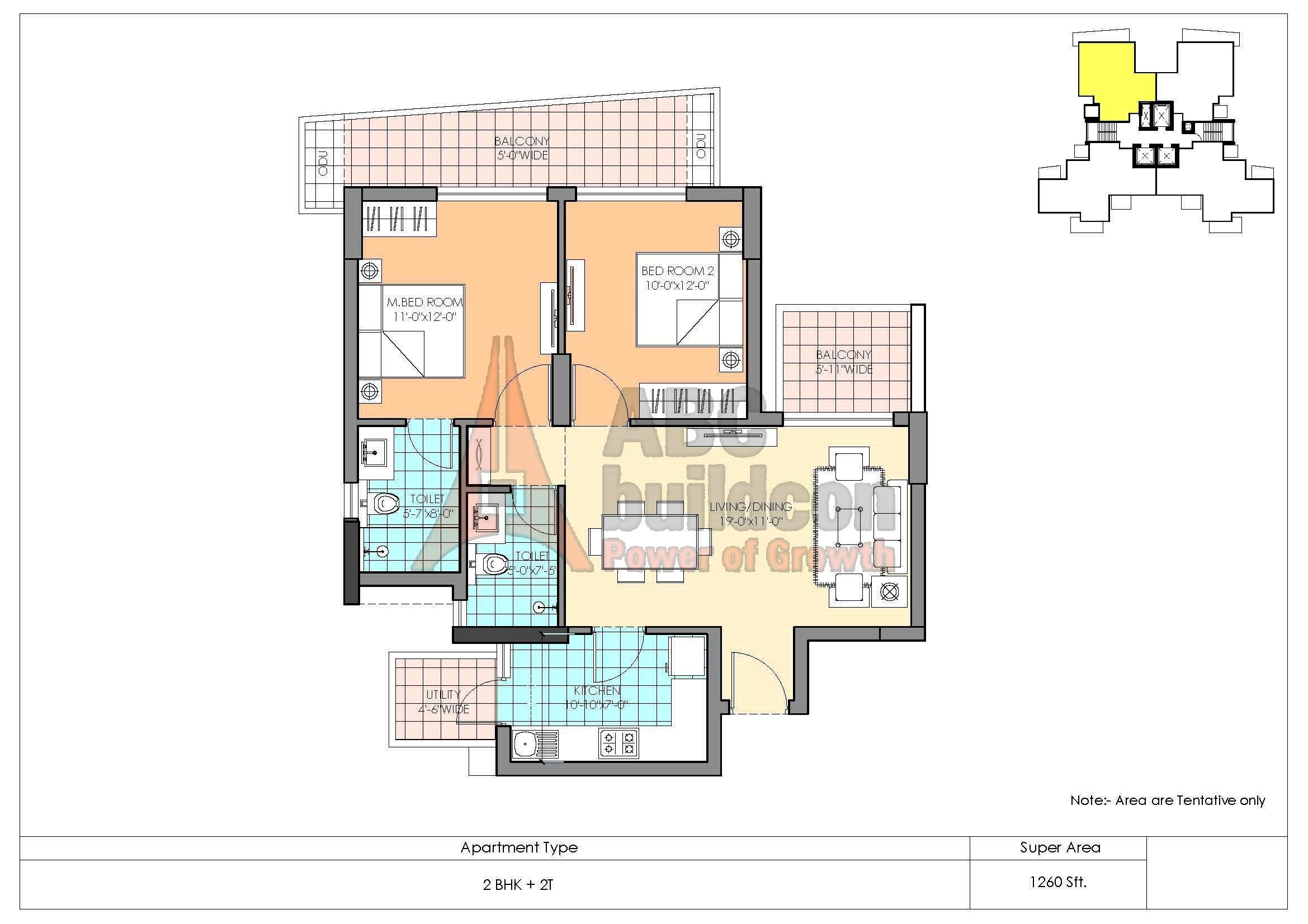 M3m Marina Floor Plan Floorplan In
