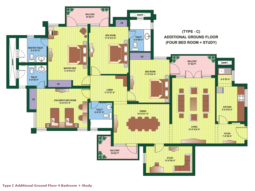 Orchid Petals Floor Plan Floorplan In
