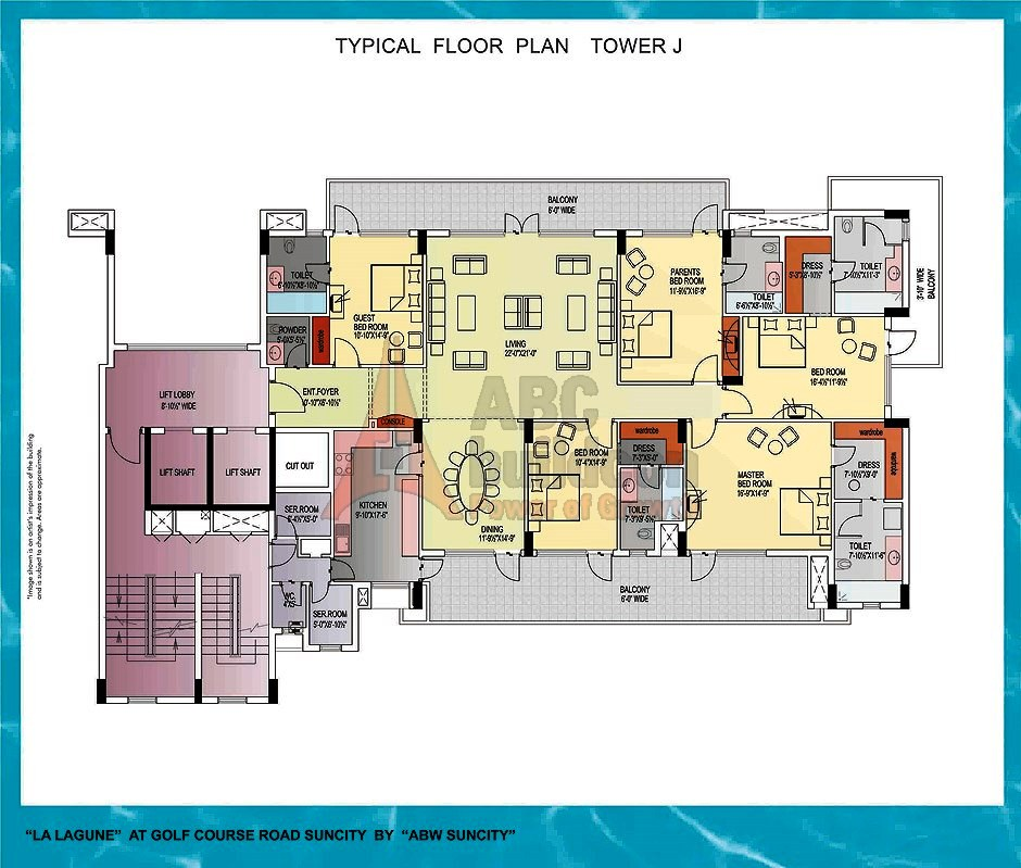 Suncity La Lagune Floor Plan Floorplan In