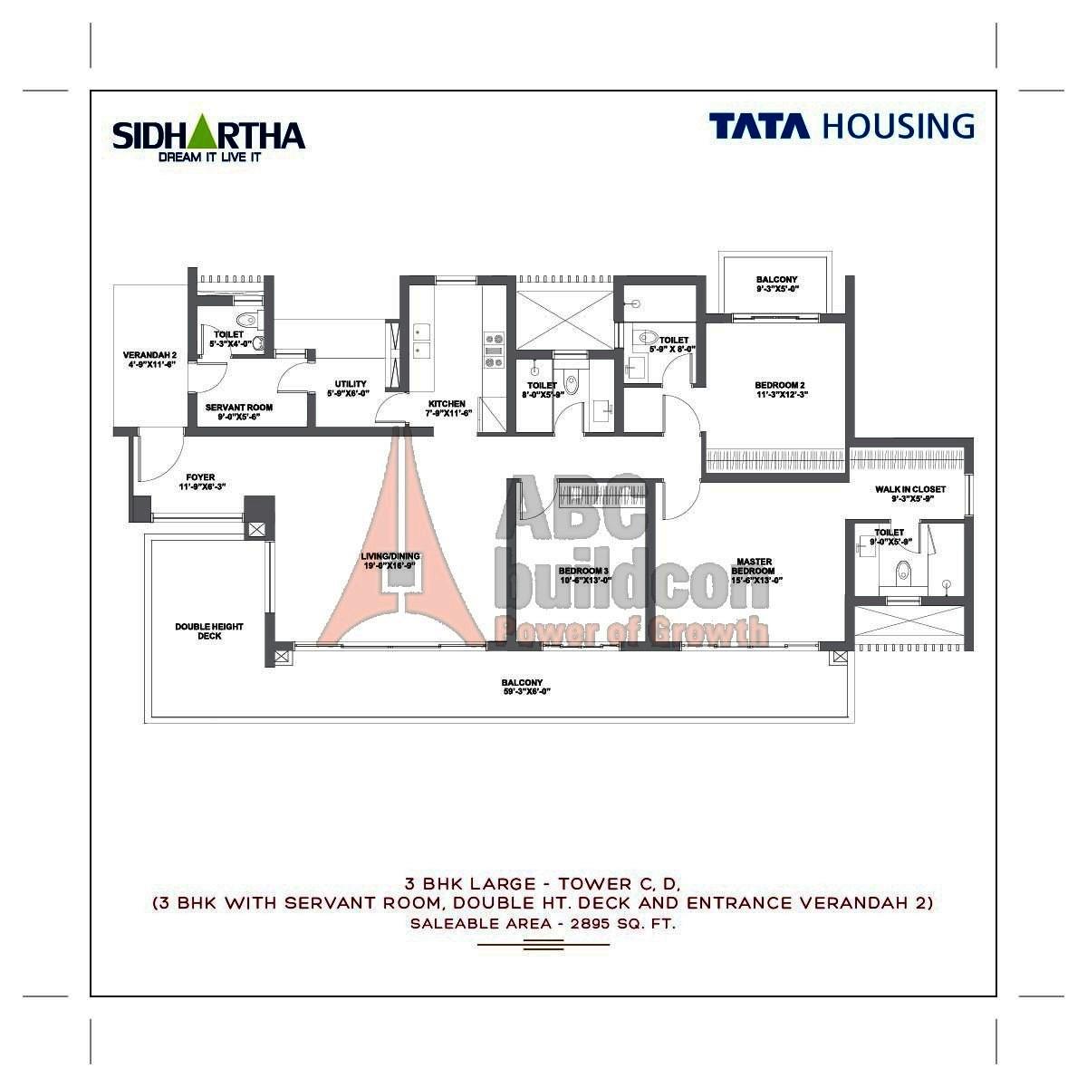 Tata Gurgaon Gateway Floor Plan Floorplan In