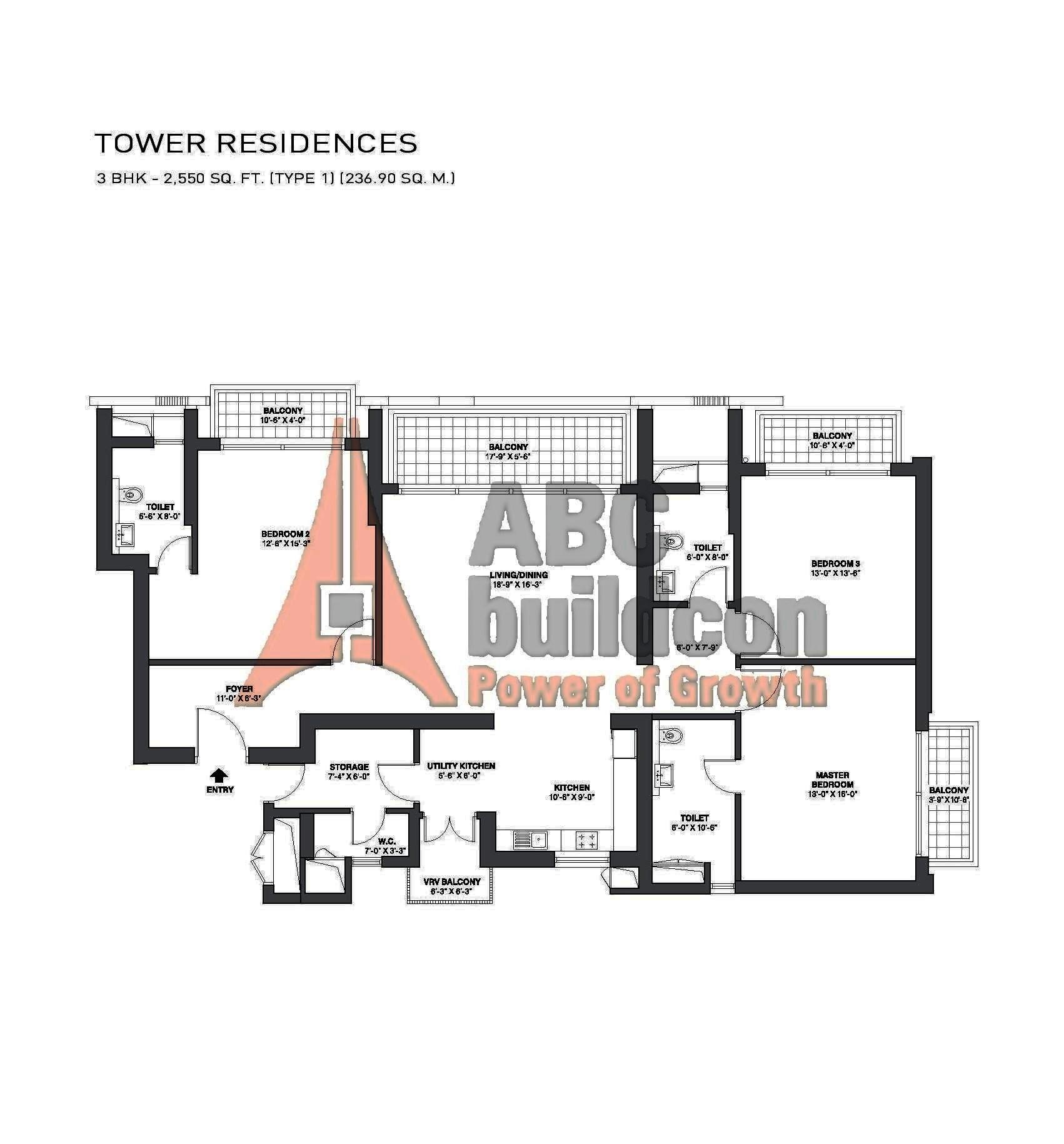 Tata Primanti Garden Estate Floor Plan Floorplan In