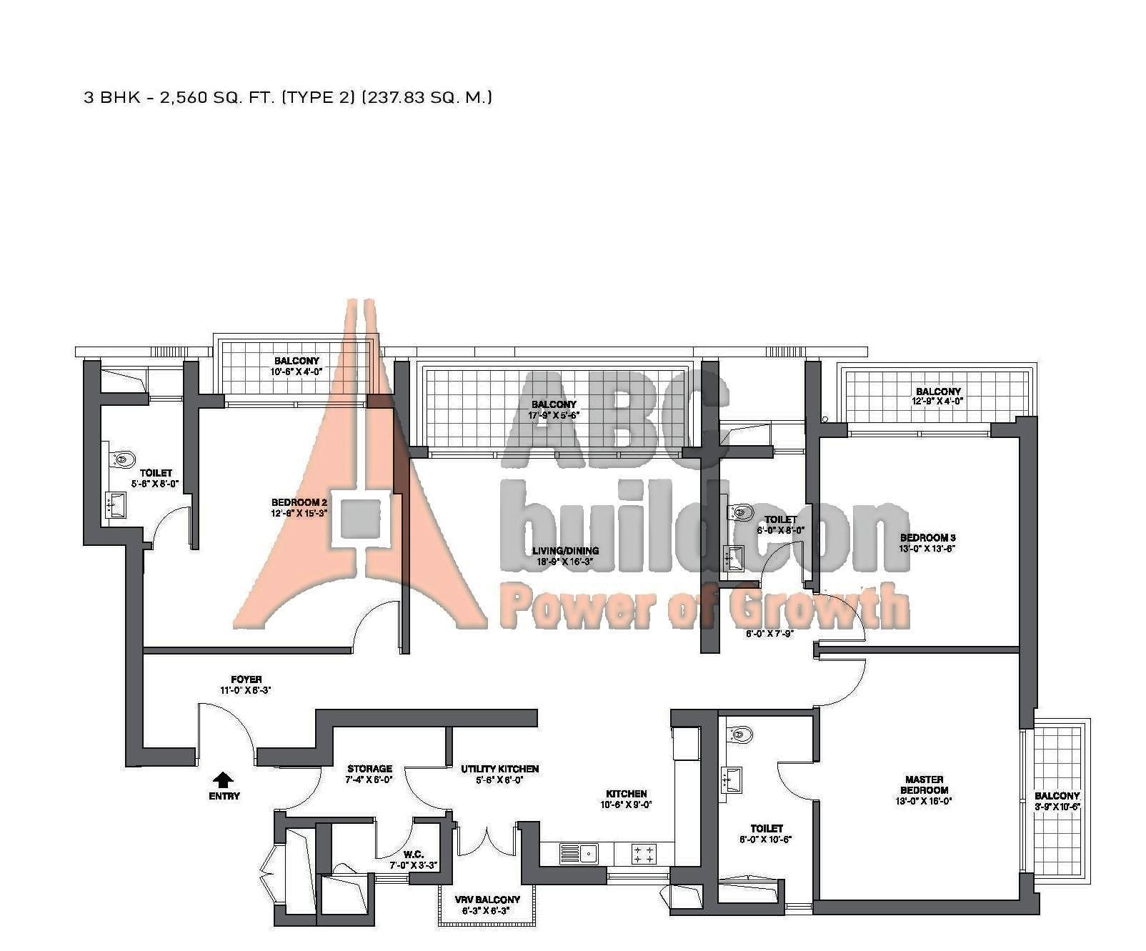 1 Marina Park Drive Floor Plan