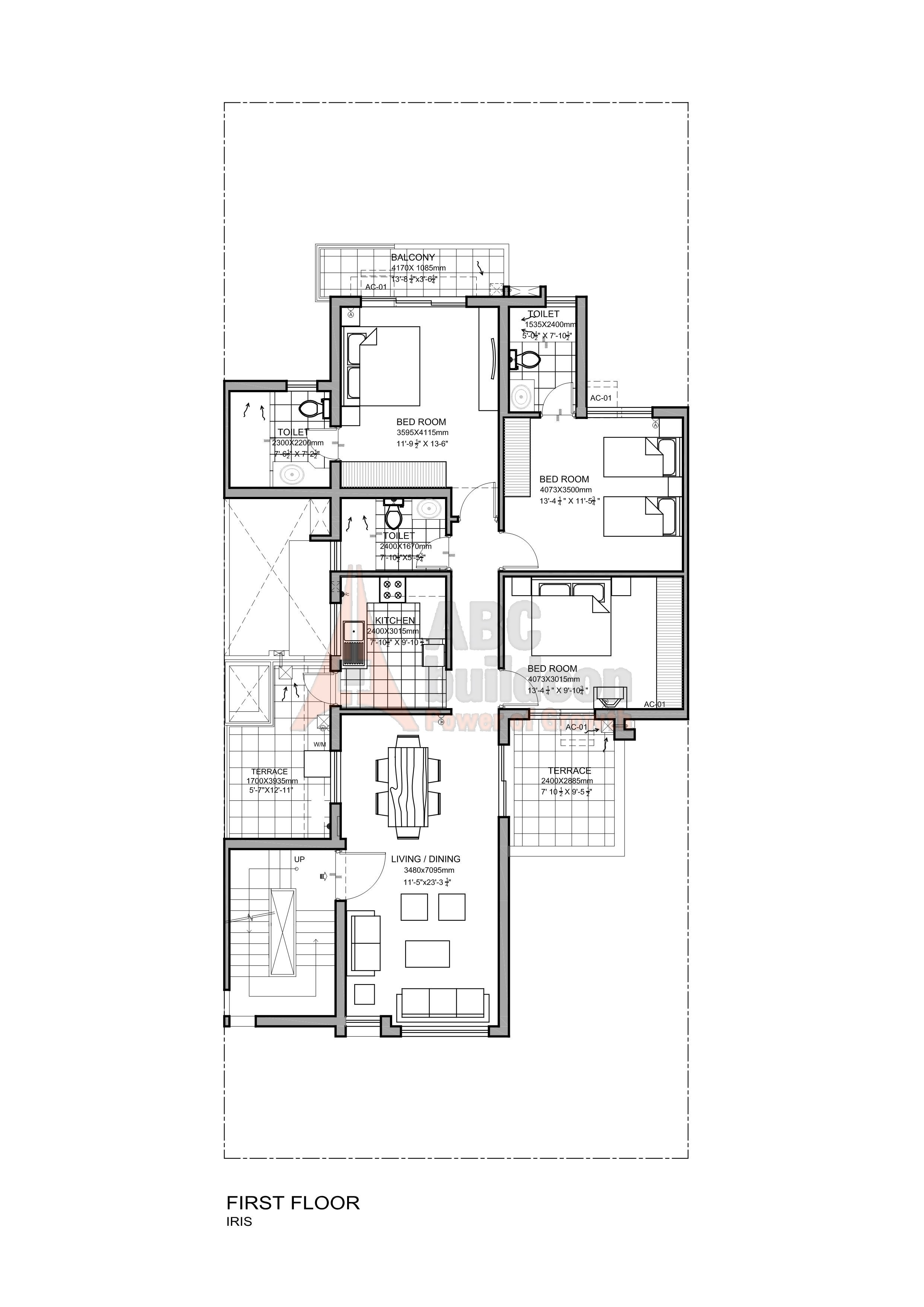 Vatika Iris Floor Plan Floorplan In